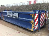 10m³ container ONZUIVER steenpuin